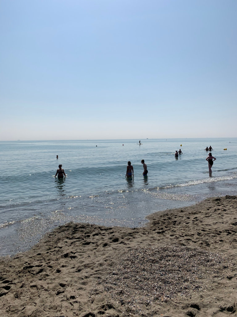 week end abs à malaga à la plage playamar